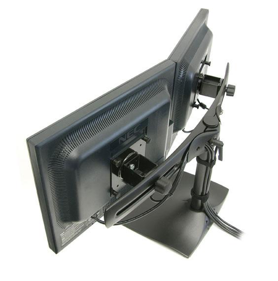 Ergotron DS100 крепление для 2-х мониторов горизонтальное