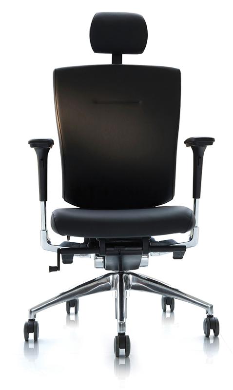 Офисные ортопедические кресла для руководителя DuoFlex Leather