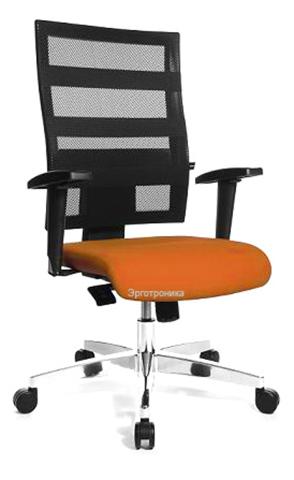 Эргономичное офисное кресло X-Pander (черный цвет)