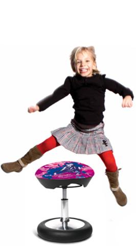 Эргономичное кресло для фитнеcа Sitness Kid 20