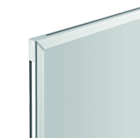 Белая эмалевая магнитно-маркерная доска серии СС Magnetoplan 900x600 мм.