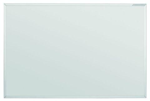 Белая эмалевая доска с системной рамкой ferroscript Magnetoplan 900x600 мм.
